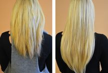Beans Make Over / Salon Before & Afters