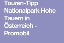 Wohnmobiltouren Österreich