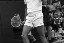 Back In The Day / What the sport looked liked back in the days.  / by #SonyOpenTennis