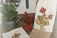 Tea Towels ( pano de prato ) / by Ivone Goulart