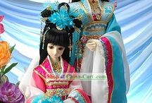 Dolls: In Chinese Traditional Clothing(Hanfu)