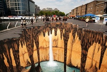 Pavement Art / 3D illusions