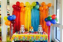 Baby 1st birthday Circus theme