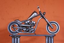 steel art by BBDesigns / On my board only shit I make. Love my job, Steel is where its at! www.bbdesignz.nl