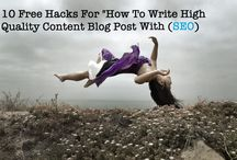 How To Write High Quality Blog Post