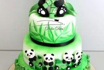 panda´s / hi pandas zijn mijn lievelings dieren ze zijn zo cute daarom een bord