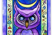 Dark Moon Art Creations / Come see what the dark moon artisans are working on! / by Dark Moon Art