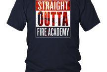 Fire Academy Graduation T Shirt Gift Firefighter