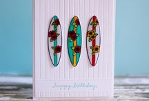 summer themed cards