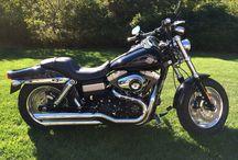 FXDF Dyna Fat Bob / Harley Davidson Motorcycle