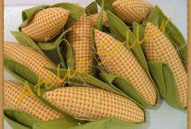 milho em tecido