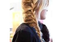 hair ideas for the girls / by Melanie McSeveney
