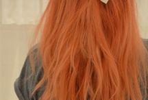 Orange Hair / Hair that is orange