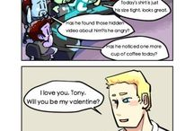 Stony / I don't really like this pairing. But some of the art work is just magnificent, so I had to Pin it.