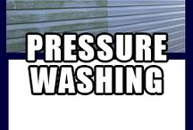PRESSURE WASHING / HOME PRESSURE WASHING DECK CLEANING ROOF CLEANING