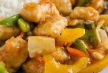 domowy kurczak w sosie słodko-kwasnym