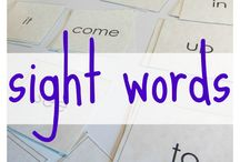 Tricky words / Tricky word learning ideas and games.