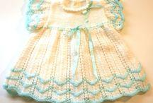 Gebreide babagoedjies / knitting