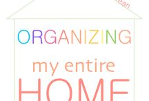 Organize me! / by Fiona Downes