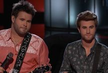 the Swon Brothers on the Voice