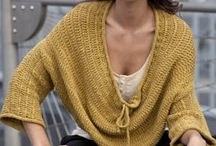 knitted/ crocheted Tops / by Mercedes Galarce
