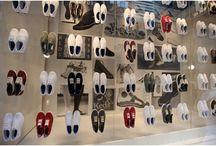 Kengät - esillepanot