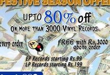 Get Payback On Order of Vinyl Records