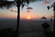 Ma Joly Sunset / Sunset at Ma Joly Restaurant