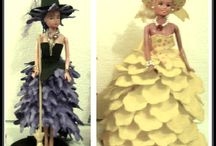 Vestido de bonecas em Eva
