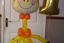 Figuras en globo bebé