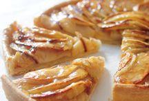 Tartes sucres / tartes salées