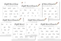 Teaching Sight Words / Do you teach sight words? Then, this is the board for you! Here you will find an amazing collection of ideas to help them stick - including freebies, printables, and great strategies from other homeschoolers and educators. Your students will have all their sight words mastered in no time!