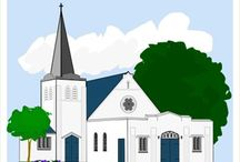 Thema kerk kleuters / Church theme preschool / Thema kerk kleuters lessen en knutsels / Church theme preschool, lessons and crafts