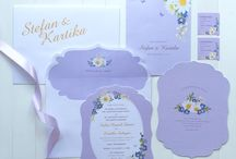 Stefan & Kartika / Floral Wedding Invitation & Stationery