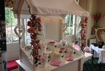 Vintage Wedding Candy Cart / Vintage Wedding Ideas for your big day