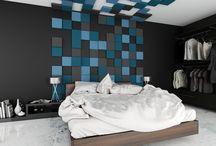 Wnętrza domów - Sypialnia / Inspiracje dla wyposażenia sypialni w domach i mieszkaniach