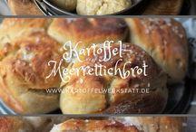 Kartoffelwerkstatt - Brote & Brötchen
