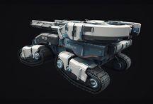 spaceships, sci-fi vehicles