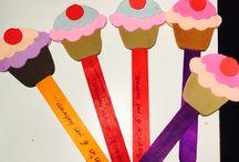 6 yaş doğum günü / Pasta, doğum günü hatırası, masa süslemesi