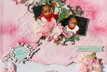 Baby & Children scrapbook pages