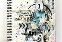 Inspirational art journals