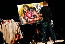 """The Response, Live Painting / Courage Worldwide and William Jessup University host """"The Response""""—A Global Sex Trafficking Summit. This summit is geared toward professionals who work with or desire to work with victims of sex trafficking. At this summit, various industries will report on their response to this global crime. In addition, education will be provided on the trauma caused by sex trafficking by leading mental health professionals."""