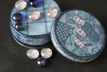 Altered tin and Containers...