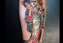 Japanese Old School Tattoos