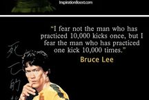 "Bruce Lee "" The man """