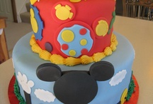 Mickey mouse birthday / by Kelley Kirkpatrick