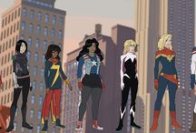 Marvel Rising / The new generation of Heroes.