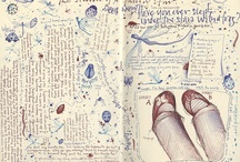 Lines / Representations in ink, pencil, stitch, etc...