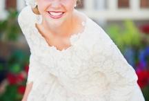 Modest wedding dresses / Wedding &
