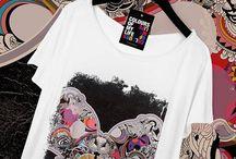 Butterfly Effect T-shirt / #LimitedEdition #CottonPrintedT-shirt #DesignerT-shirt